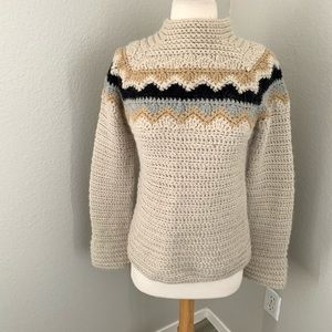 J.Crew Knitted Aplaca  Sweater